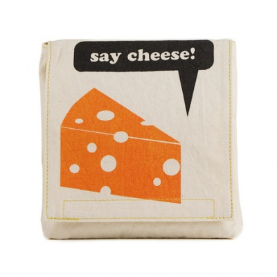 Organic Cotton Snack Pack - Say Cheese